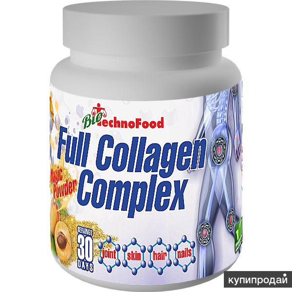 Полный коллагеновый комплекс Full Collagen Complex, 300 гр.