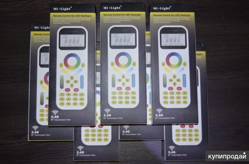 Сенсорный пульт Mi-Light FUT090 P195 (RGB+CCT)