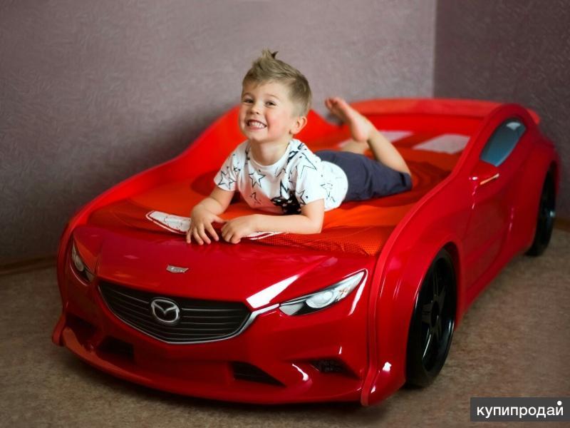 Детская кровать машина в наличии в Екатеринбурге
