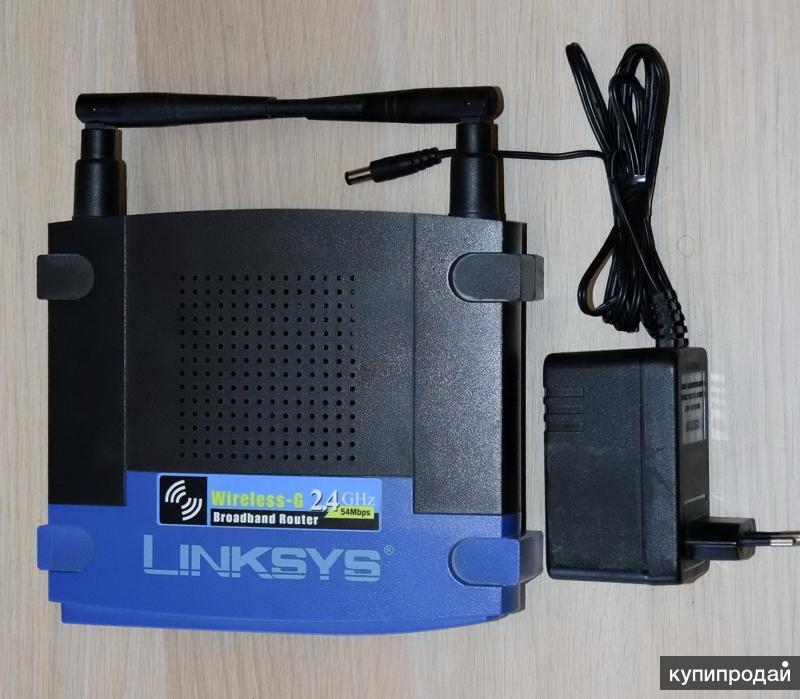 Многофункциональный Wi-Fi роутер Linksys WRT54GL