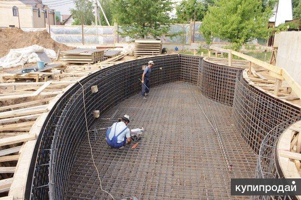 Монолитные работы,бетонные работы, проектирование