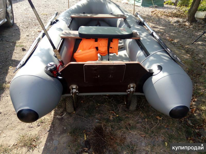 Лодка ПВХ ВЛК КМ280 в отличном состоянии
