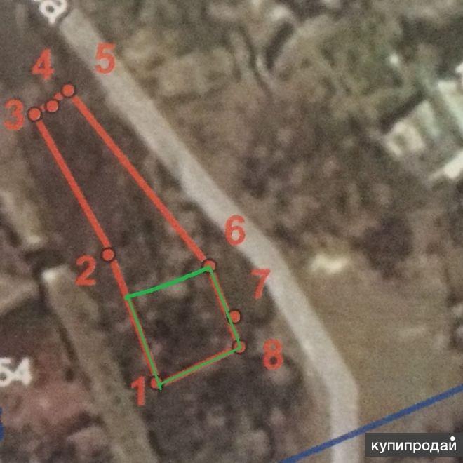 Продам участок под строительство жилого дома в Нахимовском районе  Севастополя