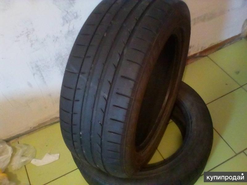 Две шины Kumho ecsta 205 55 R16 ku39