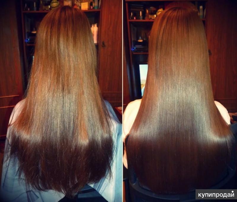 Полировка волос, дарсонвализация, молекулярное восстановление