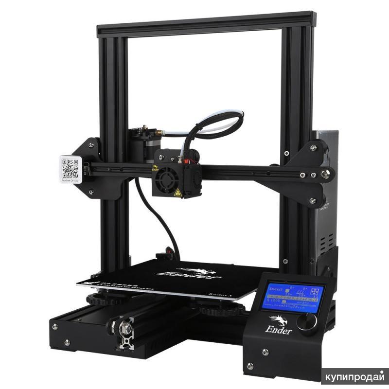Предзаказ на 3d принтер с большой скидкой и бесплатной доставкой