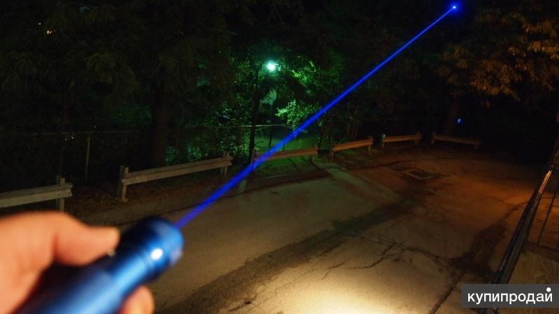 Лазерная указка синяя, мощная
