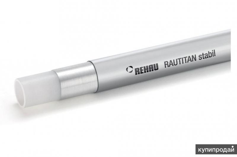 REHAU Универсальная труба RAUTITAN Stabil (бухта 100м) 16.2х2,6мм