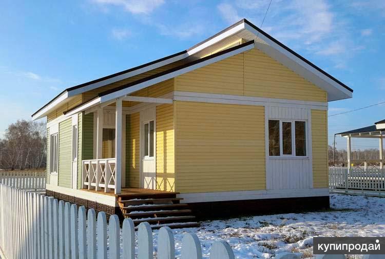 Одноэтажный каркасно-щитовой дом построим в Пензе