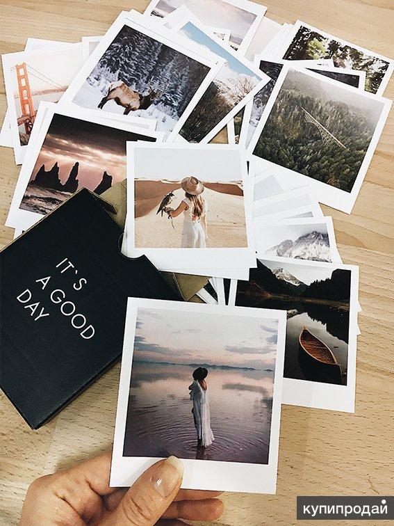 Печать фотографий с белыми полями начала приведем