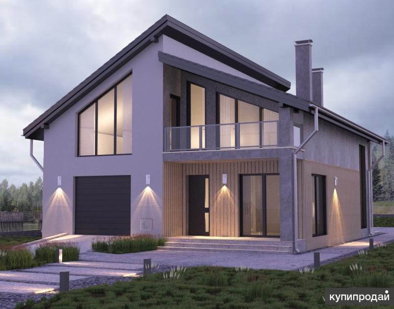Проект коттеджа недорого строительство под ключ Пенза
