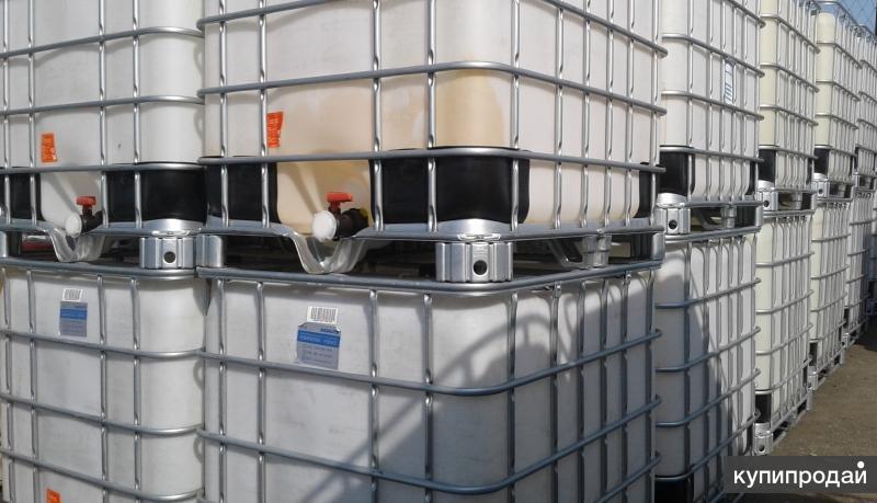 Еврокуб, ёмкость кубическая 1000 л, контейнер IBC
