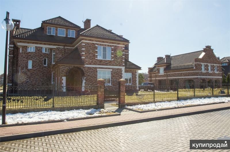 Два дома под ключ 550 кв. м и 200 кв. м в едином стиле на участке 34,65 сотки.