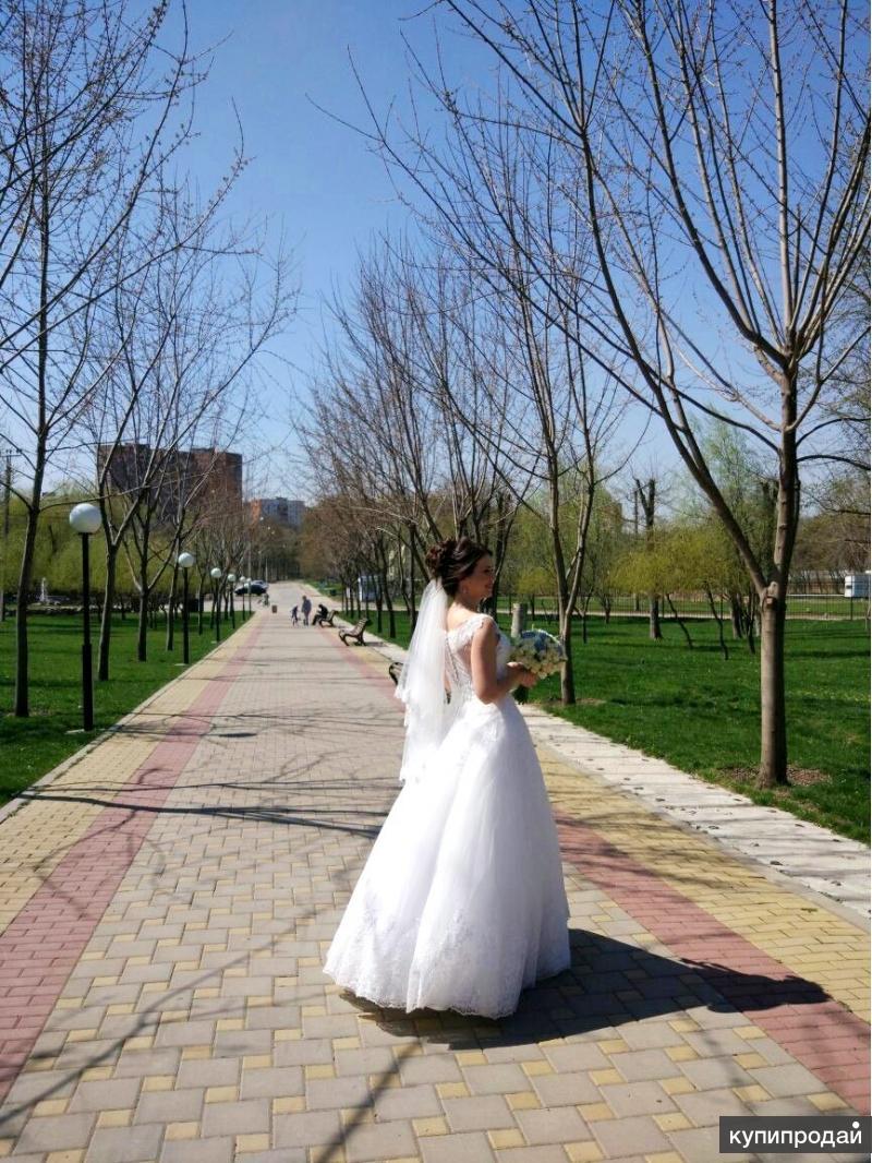 Свадебное платье 2018 лайт айвори