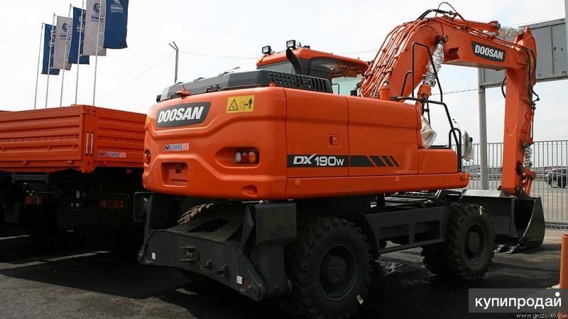 Продам экскаватор DOOSAN DX190WA