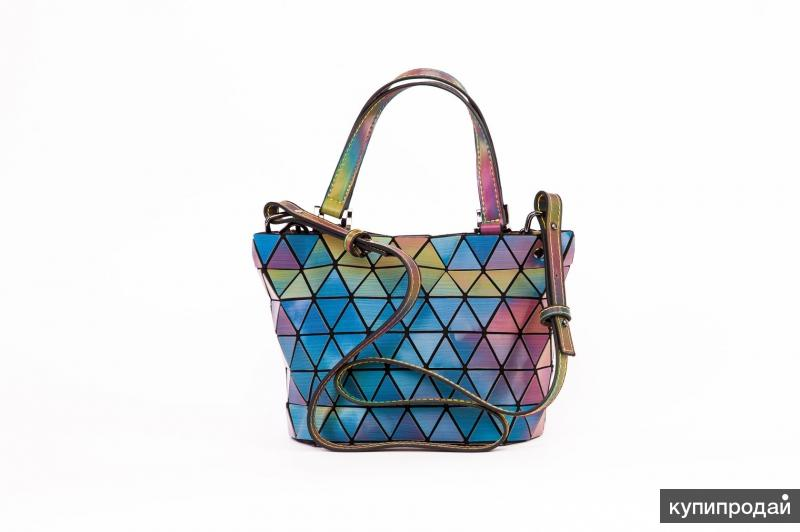 Женская сумка хамелеон
