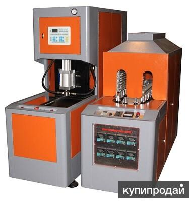 Полуавтомат выдува пэт-тары JD-88B, 0.5-10.0л., 25Атм.