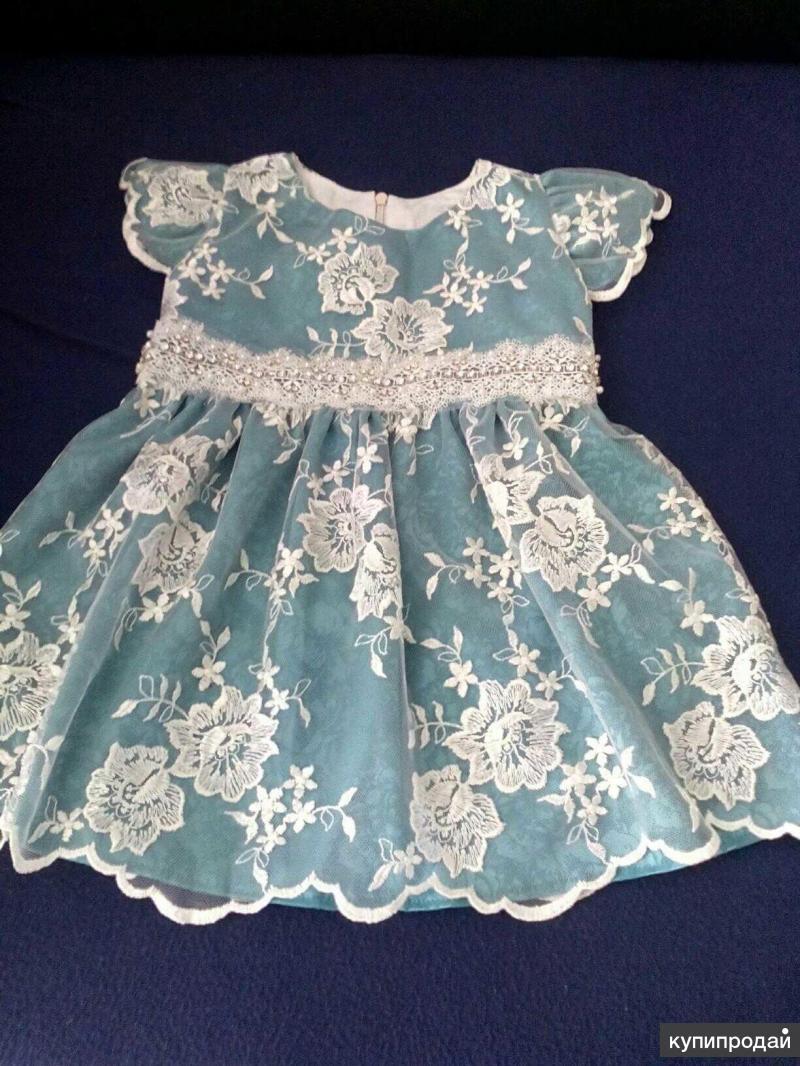 Нарядное платье, р. 80, инд.пошив