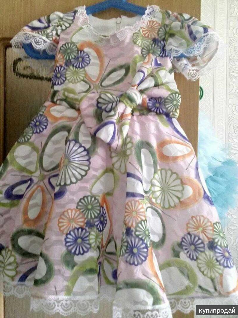Летнее платье, р. 86, инд.пошив