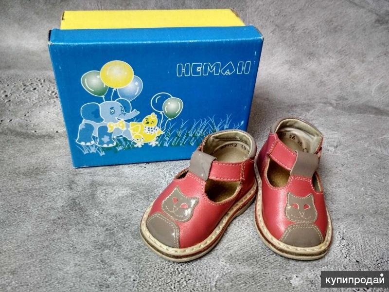 Ретро-сандалии для девочки Неман