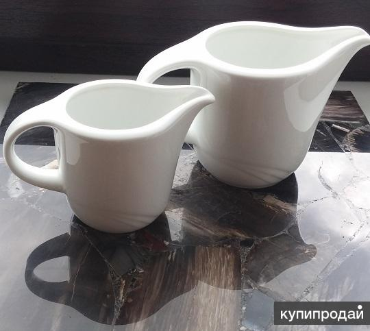 Молочник и сливочник  Schonwald Germany (Бавария) ,фарфор с клеймом 68-72 г.г.