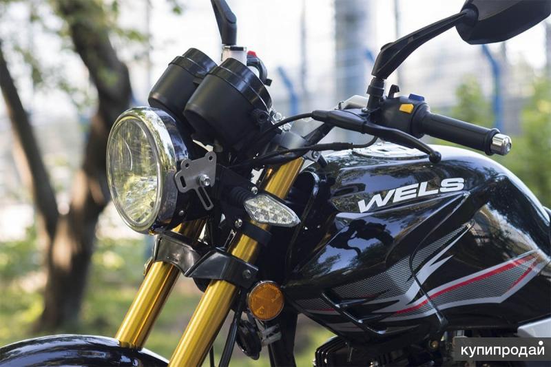 Мотоцикл Wels Gold Classic 200cc Кострома Мотосалон Акула