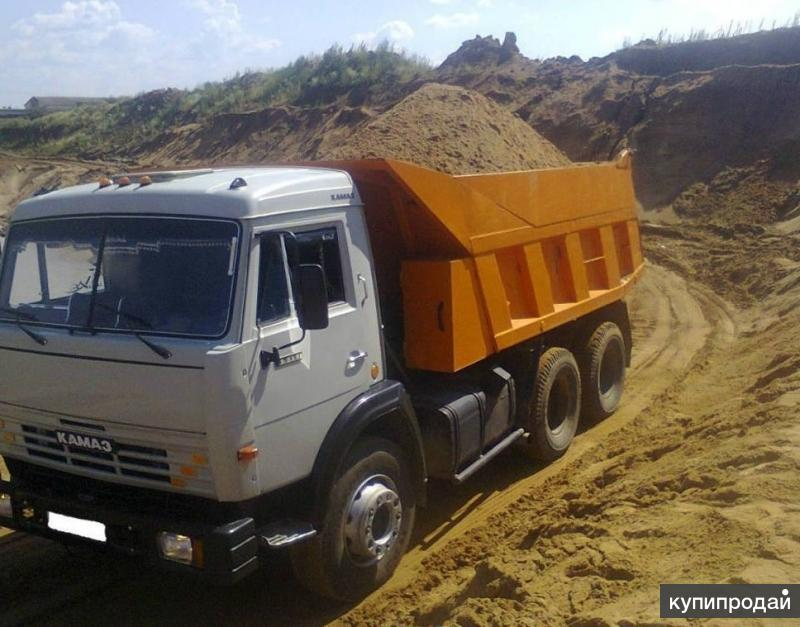Речной песок с доставкой в Ярославле от 3 до 30 тонн