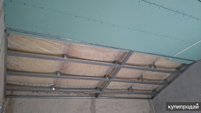 устройство потолков