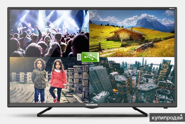 Telefunken 81 см. Smart TV, Android 4,4