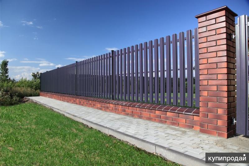 Забор, ворота, калитки, ограждения.