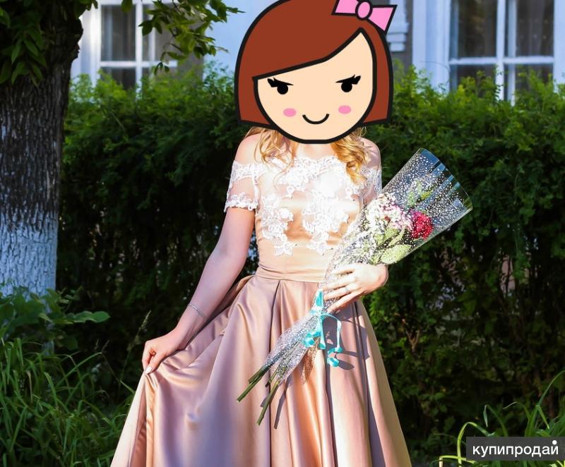 Продаю красивое,легкое выпускное платье