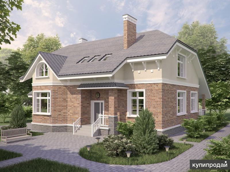 Проект загородного дома В-506
