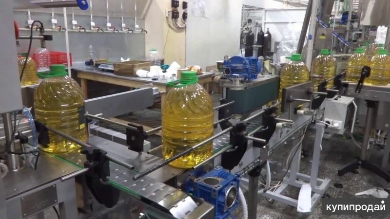 Линия розлива растительного масла до 5л., до 800 б/час
