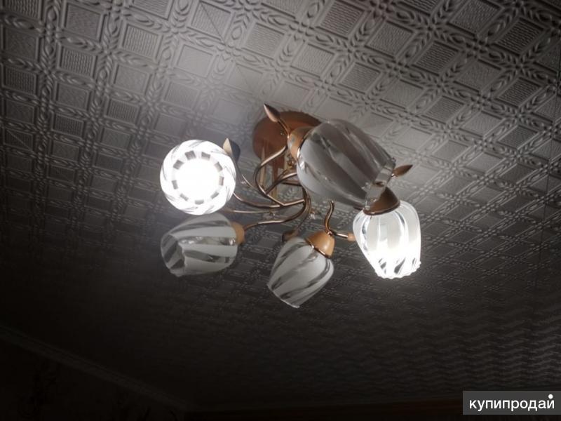 Очаровательная классическая люстра на 5 ламп