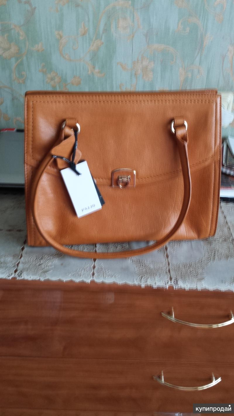Продаю новую сумку из натуральной кожи Palio