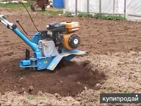 Вспашу землю мотоблоком