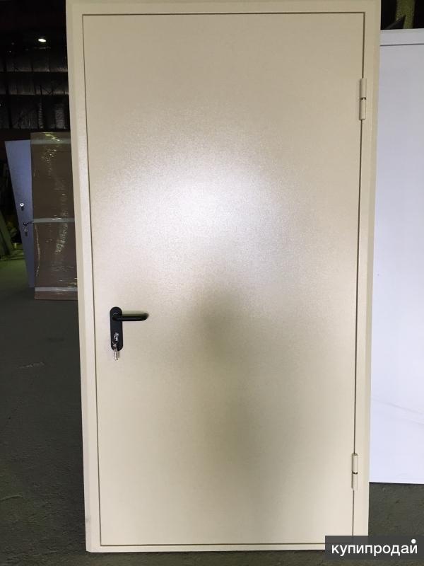 Дверь однопольная Дымогазонепроницаемая