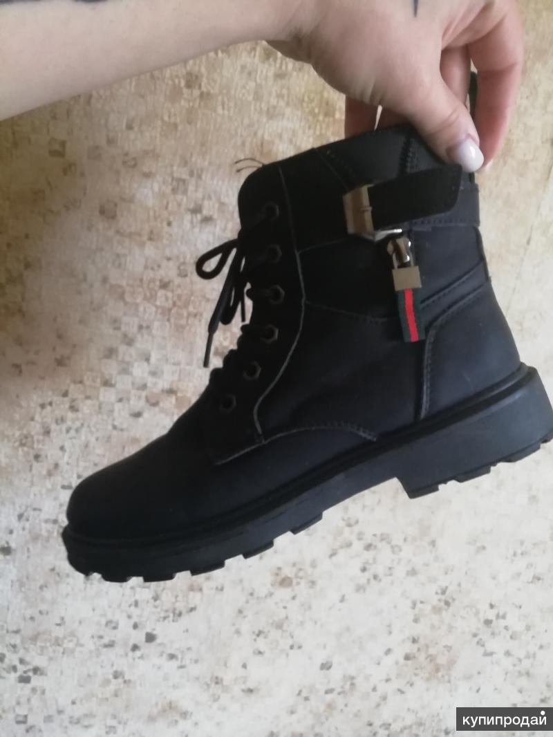 ботинки женские весенние