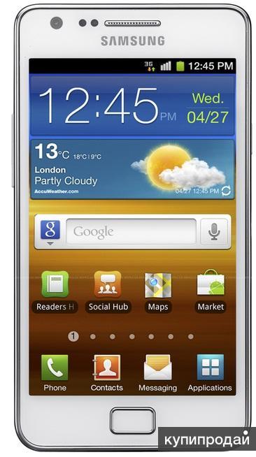 Смартфон Samsung GT-i9100 Galaxy S2 16Гб