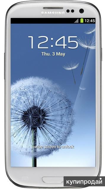 Смартфон Galaxy S3 i9300 16GB Marble White