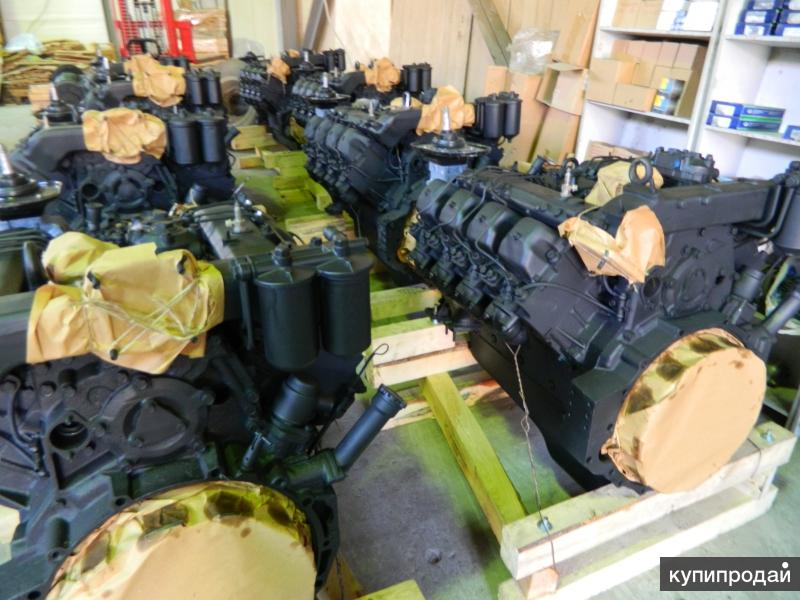 Двигатели КАМАЗ, ЯМЗ с хранения.