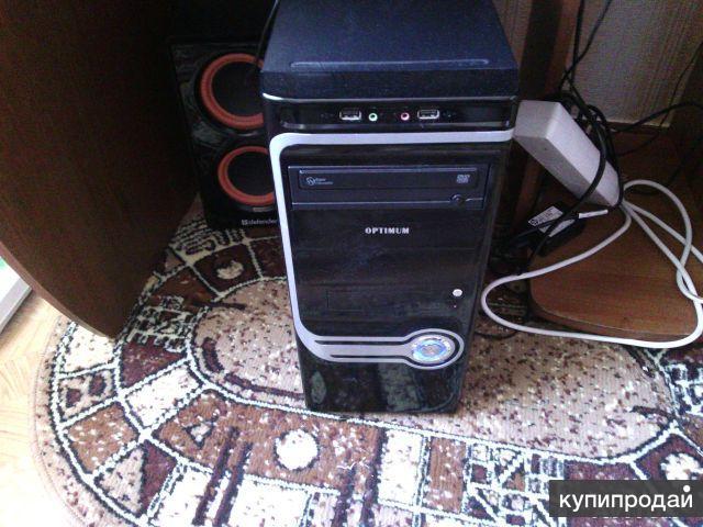 продам системный новый блок монитор клавиатуру и мышь купил в апреле 2014 года
