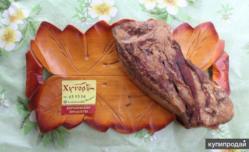 Натуральное копчение, домашние колбасы без сои с доставкой на дом в Омске