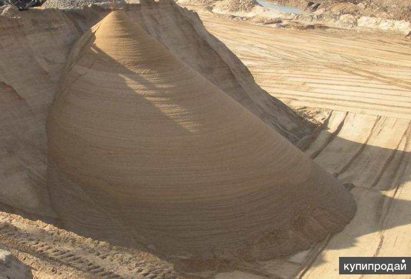 Песок, гравий, щебень, пгс, плодородный грунт