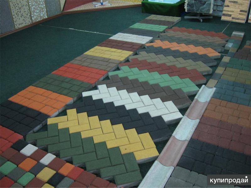 Производим и продаем тротуарную плитку