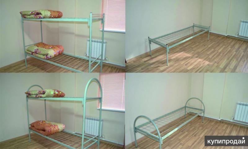 Кровати для общежитий, больниц, строителей с доставкой по Ярославской области