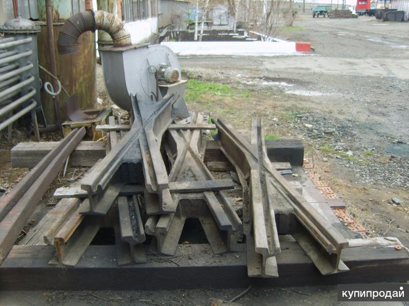 Продам трамвайные крестовины R30, Перо R30