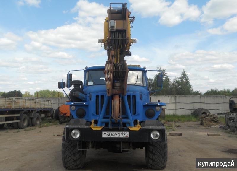 Автокран КС-45717 Ивановец Урал