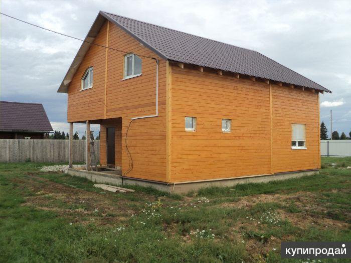 Малоэтажное строительство домов.