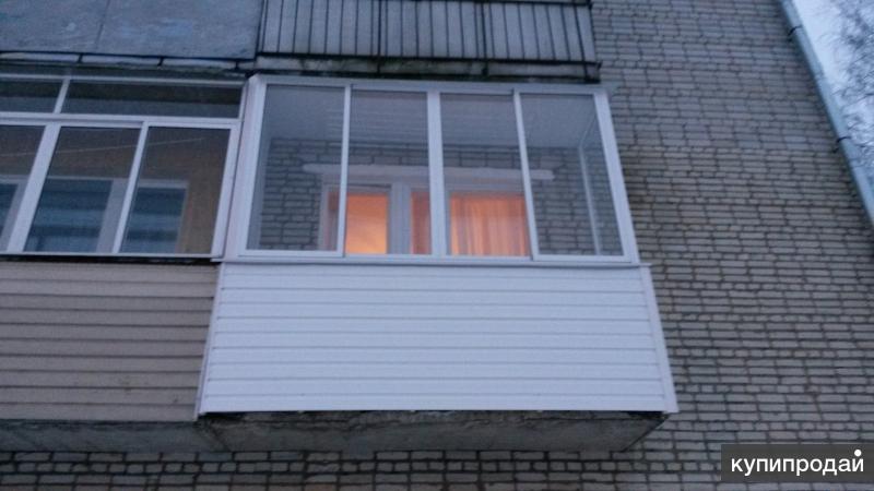 Хрущевский балкон под ключ москва.